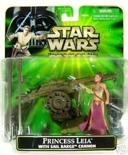 STAR WARS PRINCESS LEIA WITH SAIL BARGE CANNON