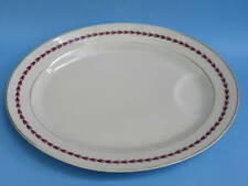 Limoges France Serving Platter Plate Oval 15 5/8in Theodore Haviland Daphne 1950
