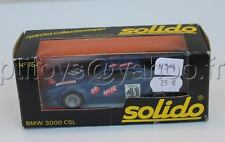 N904 SOLIDO VOITURE BMW M1 ecurie air press DIJON 1979 boite bmw 3000 csl N°75