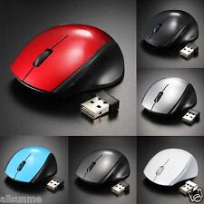 2.4ghzGHz ratones ratón óptico Sin Cables Receptor usb pc ordenador Inalámbrico