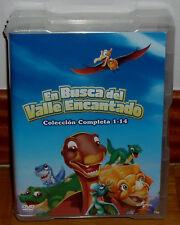 EN BUSCA DEL VALLE ENCANTADO COLECCION COMPLETA 1-14 NUEVO 14 DVD (SIN ABRIR) R2