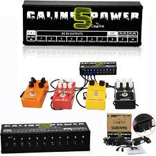 Portable Caline CP-05 Guitar Effect Pedal Power Supply 10CH Output 9v 12v 18v US