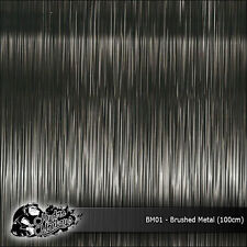 1m of Brushed Metal (BM01) 100cm hydrographics water transfer film