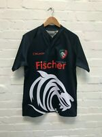 Leicester Tigers Men's Kukri Rugby 18/19 Training Shirt - L - Navy - New