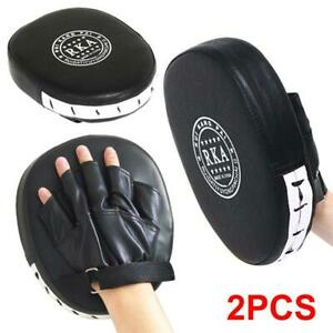 Boxing Punching MMA Mitts Gloves Target Focus Pad Gear for Thai Kick Karate Mauy