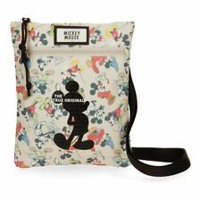 Borsa Tracolla Borsello Shoulder Bag Mickey Mouse DISNEY Multicolore Donna Woman