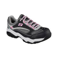 Skechers Women's   Work Biscoe Steel Toe Sneaker