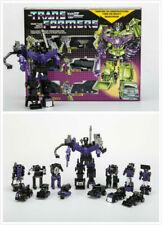 Transformers G1 Reissue Black Devastator Decepticons Toy Robot Christmas Gift