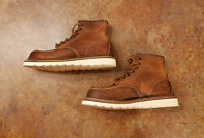 New! Red Wing 'Classic Moc' 1907 Brown Leather Boots Mens Size 8.5 D MSRP $290