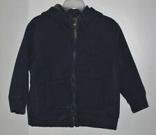 babyGAP Size 4 Years Boys Blue Front Zipper Hoody Jacket