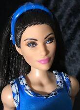 WWE Wrestling-Brunette Mattel Articulated barbie doll- B-30