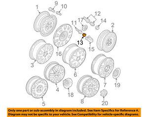 VW VOLKSWAGEN OEM 98-10 Beetle Wheel-Wheel Bolt Cap 1K06011739B9