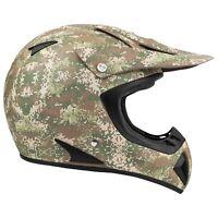 Adult Dirt Bike Helmet ATV Off Road ORV Motocross Camo DOT Motorcycle MX UTV