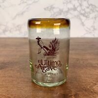 EL ULTIMO AGAVE TEQUILA ARTISAN HIGH BALL GLASSES Collectible blown Glass