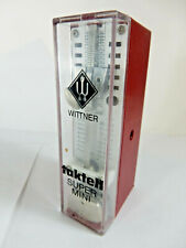 Vintage Wittner Taktell Super Mini Metronome with Original Key Made West Germany