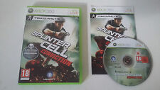 TOM CLANCY'S SPLINTER CELL CONVICTION - MICROSOFT XBOX 360 - COMPLET