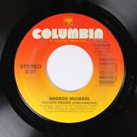 Pop 45 George Michael - Father Figure (Instrumental) / Father Figure On Columbia