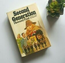 Second Generation 1st First Ed Thus HB DJ San Francisco Earthquake War WWII Fast
