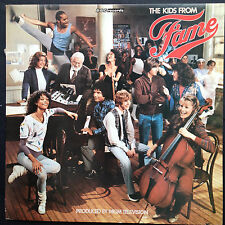 KIDS FROM FAME TV soundtrack LP 1982 BBC Lori Singer Fasman Carole Bayer Sager