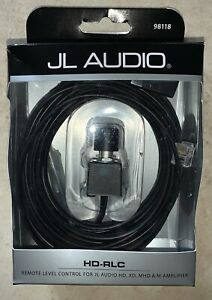 JL Audio HD-RLC Amplifier Remote Level Control and Cable