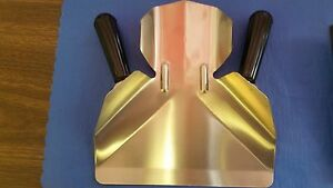 SCOOP DOUBLE HANDLE STAINLESS STEEL FOR FRENCH FRY/POPCORN COMMERCIAL GRADE