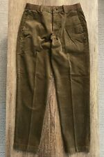Uniqlo - Corduroy Ankle Trousers - Tobacco Brown - Size S - Worn Once
