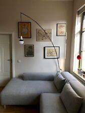 IKEA REGOLIT Lampe Standleuchte Bogenlampe schwarz Stehleuchte industrial