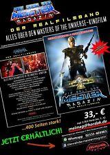 """DER REALFILMBAND """"DIE WELT DER MEISTER – MAGAZIN"""" NEU Masters of the Universe"""