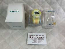 Casio Baby-G Reef BG-370WC-9T Limited Edition WCCS Watch Clear & Yellow NEW