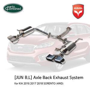 AXLE-BACK EXHAUST for KIA 2016 2017 2018 SORENTO (4WD & 2WD)  [JUN B.L]