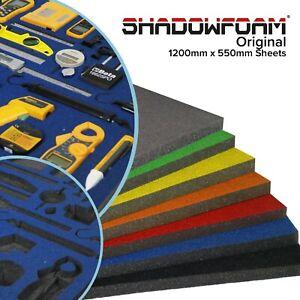 Shadow Foam Sheet | Britool & Draper Blue | Tool Box Organisation | Motor Racing