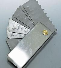 Garage door spring measuring tool Commercial Pocket Wire Gauge .319 -.562