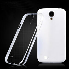 Slim & Protective Clear Soft Cover Case Silicone for Samsung Galaxy S4 SIV i9500