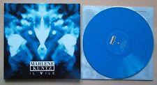 MARLENE KUNTZ Il Vile LP Blu AUTOGRAFATO 061/500 con Dvd Ed. limitata