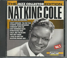 Audio CD - The Jazz Collector Edition: Nat King Cole Vol. 5 -The Trio Recoridngs