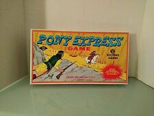JESSOP Board Game PONY EXPRESS Vintage! Excellent Condition!