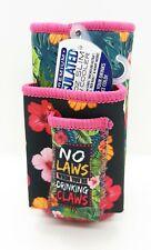 Ninc No Laws Design Cigarette Pack Pouch/Lighter Holder 12 Oz Slim Can Cooler