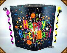 Windlicht  Tischdekoration Geburtstag Happy Birthday