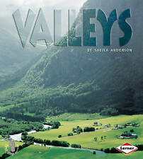 First Step Non-fiction Landforms: Valleys, Sheila Anderson, New Book