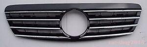 Front Grille Mercedes Benz S Class W220 Chrome & Black 1998-2001 S600 S500 S320