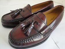 Men's Cole Haan PINCH TASSEL 03507 Burgundy Slip-On Loafer Dress Shoes Size 7 D