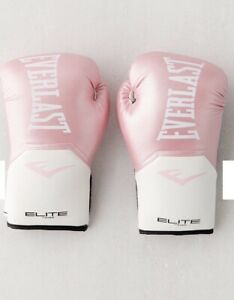 Everlast Elite Pro-Style Boxing Gloves 12 Oz, Pink NEW in Box