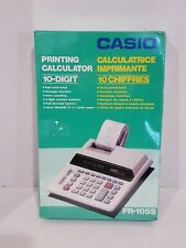 New Casio Electronic 10-Digit Printing Calculator Fr-105S.