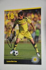 18 Lucas Barrios Bor. Dortmund 2009/10  handsigniert