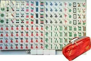 Brand New Large & Heavy MahJong Game Set 4.4KG with Carry Bag