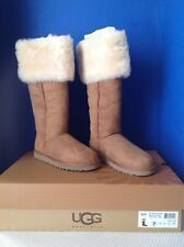 de90bf56276 UGG OVER THE KNEE BAILEY BUTTON WOMEN S BOOTS - CHESTNUT - US 7 - NEW IN