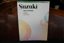 Suzuki Cello School Cello Part Volume 4 Revised Edition (Book only)