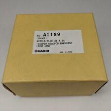 Genuine Hakko A1189 Nozzle PLCC 34x34mm Soldering Desoldering Rework Tip 850 SMD