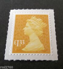 2016 £1.33 Machin M16L Code SINGLE STAMP from Counter Sheet
