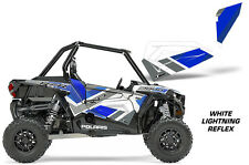 AMR Racing Graphic Wrap Kit Polaris RZR 1000 UTV OEM Door Insert LIGHTNING REFLX